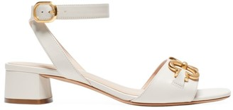 Kate Spade Lagoon Heart Chain Leather Sandals