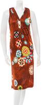 Missoni Printed Sleeveless Dress