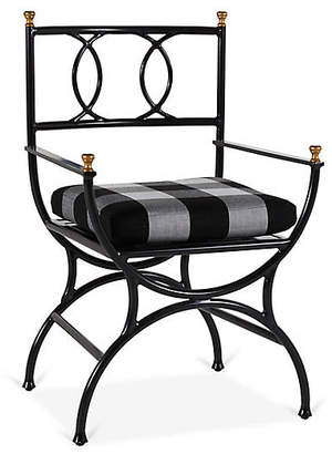 One Kings Lane Frances Bistro Chair - Gingham