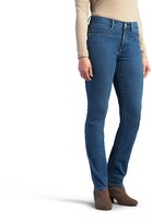 Lee Women's Easy Fit Slimming Straight-Leg Jeans