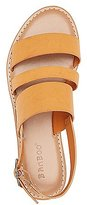 Charlotte Russe Bamboo Three-Band Slingback Sandals