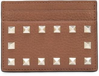 Valentino Stud Detail Cardholder