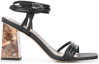 Sam Edelman Marble Heel Sandals