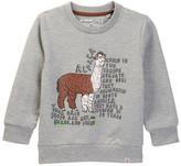 Sovereign Code Zoo Alpaca Print Sweatshirt (Toddler & Little Boys)