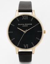 Olivia Burton Black Face Big Dial Watch