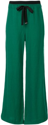 Taylor Fluency flared trousers