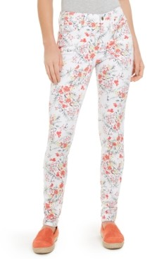 Charter Club Floral Print Lexington Straight-Leg Jeans, Created for Macy's