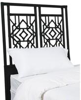 David Francis Furniture Tulum Open-Frame Headboard Size: King, Color: Black