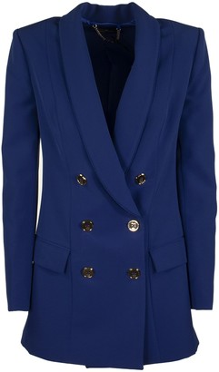 Elisabetta Franchi Celyn B. Double-breasted Tailored Jacket