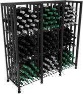 Wine Racks America VintageView Case & Crate Metal Wine Rack - Half Height - Capacity