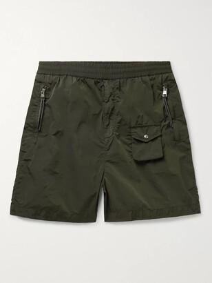 MONCLER GENIUS 2 Moncler 1952 Wide-Leg Garment-Dyed Nylon Shorts