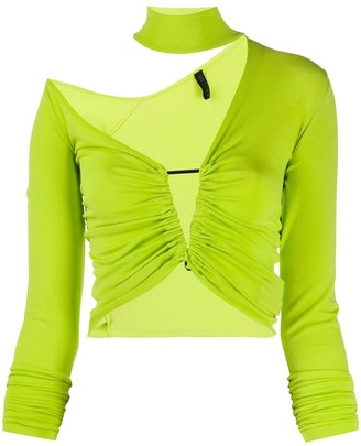 Unravel Project Asymmetric Knitted Top