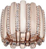 JLO by Jennifer Lopez Pave Vertical Bar Stretch Ring