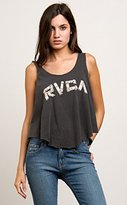 RVCA Junior's Bamboo Loose Fit Graphic Tank