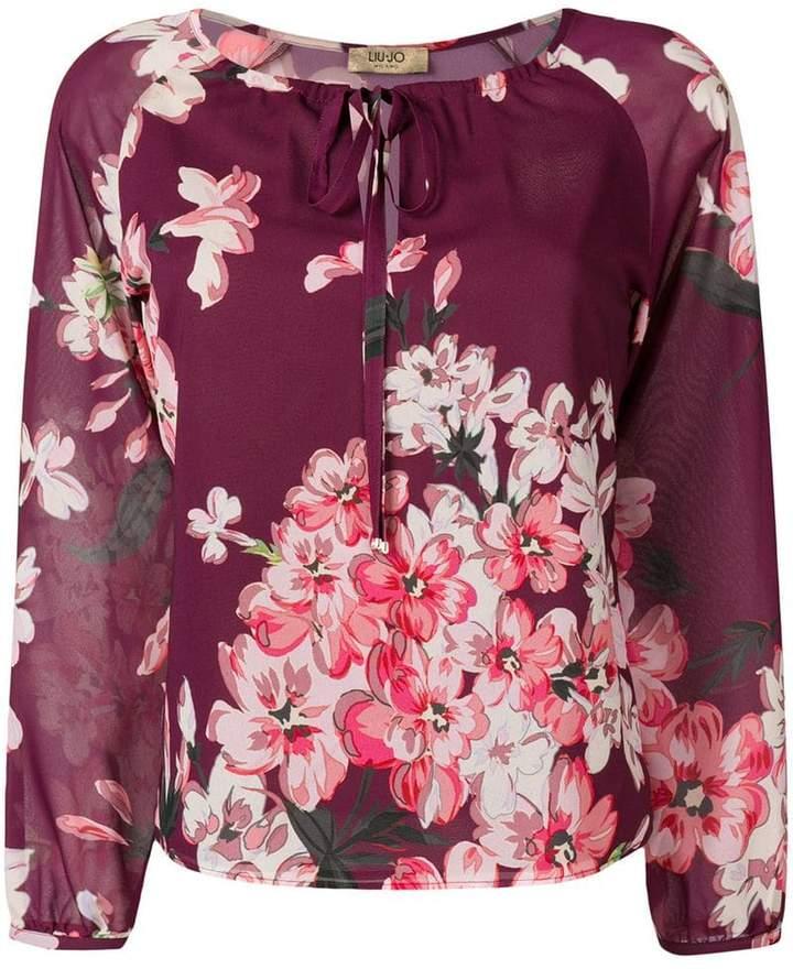 Liu Jo floral print blouse