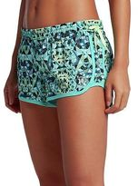 Hurley Phantom Block Party Beachrider Board Short - Women's Washed Teal D XL