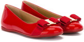 Salvatore Ferragamo Kids - Vara ballerinas - kids - Leather/Patent Leather/rubber - 28