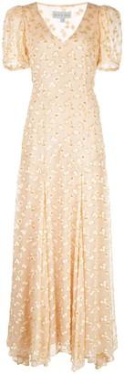 Black Iris The Daisy maxi dress