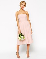 Asos WEDDING Bandeau Midi Dress