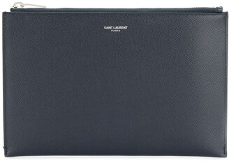 Saint Laurent Zipped Mini Tablet Sleeve