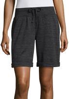 SJB ACTIVE St. John's Bay Active 9 Knit Bermuda Shorts