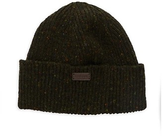 Barbour Lowerfel Donegal-Knit Beanie