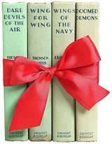 One Kings Lane Vintage Airforce Fly Boys - Set of 4