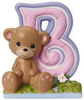 Precious Moments Letter B Figurine Baby Milestones - Girls, One Size , Multiple Colors