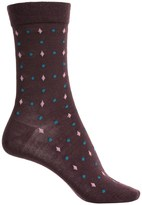 Falke Geometry Socks - Virgin Wool, Crew (For Women)