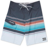 Billabong Men's All Day Platinum X Stripe Boardshorts