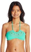 Bikini Lab Women's All Bright Long Bralette Bikini Top