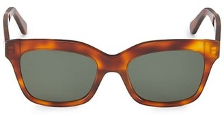 Illesteva Mohawk 53MM Oversized Square Sunglasses