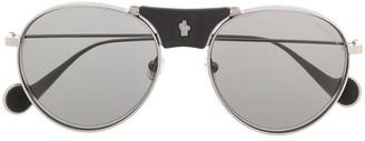 Moncler Eyewear Oversized Aviator Sunglasses