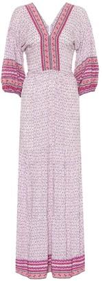 Poupette St Barth Mya floral-print maxi dress