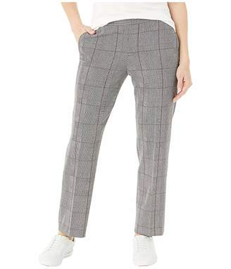 Tommy Hilfiger Adaptive Christa Ankle Pull-On Pants Plaid