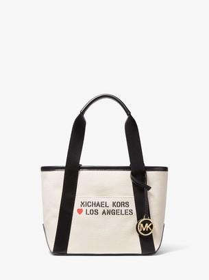 MICHAEL Michael Kors The Michael Small Canvas Los Angeles Tote Bag
