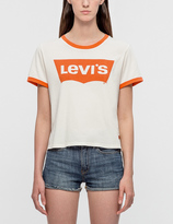 Levi's Orange Tab Graphic Logo T-Shirt