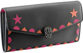 Bvlgari Serpenti Forever Star Studs Leather Wallet
