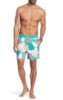 Jux Palm Printed Board Shorts