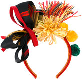 Dolce & Gabbana decorative headband - women - Silk/Viscose/Raffia/Acetate - One Size