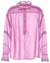 Etoile Isabel Marant Isabel Marant, Étoile Louna cotton top