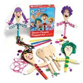 Center Enterprises Inc Ready2learn Craft Kit Spoon People