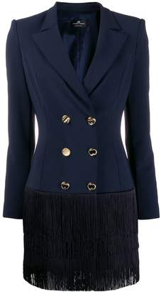 Elisabetta Franchi fitted blazer dress