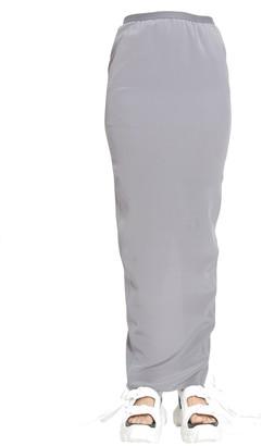 Rick Owens pull on pillar skirt