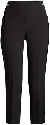 Kate Spade Scalloped Pocket Cropped Pants