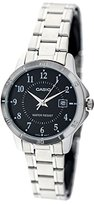 Casio Women's LTP-V004D-1B Stainless Steel Analog Watch