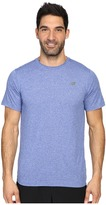 New Balance Short Sleeve Heather Tech Tee