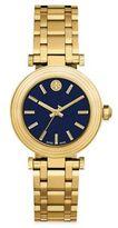 Tory Burch Classic Goldtone Stainless Steel Bracelet Watch