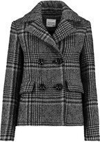 Vilshenko Checked wool and mohair-blend jacket