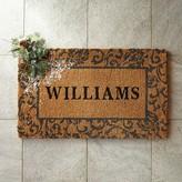 Williams-Sonoma Williams Sonoma Holiday Scroll Doormat
